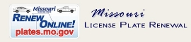 Missouri License Plate Renewal
